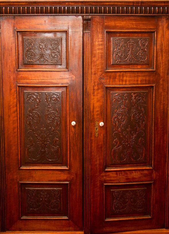 Wooden Wardrobe Styles : How to Restore an Antique Wardrobe  eBay
