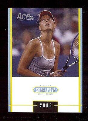 100  Maria Sharapova 2005 Ace    Tennis Special Edition  Ms 17 Lot