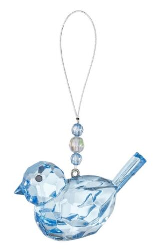 Ganz Acrylic BLUEBIRD of HAPPINESS Ornament Figurine Crystal Expressions