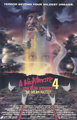 A NIGHTMARE ON ELM STREET 4 11x17 Movie Poster - Licensed | New | USA |  [A]
