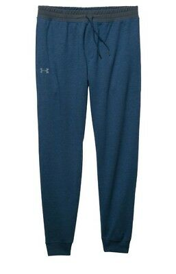 Tri-blend Pants (Mens Under Armour Tri-Blend Fleece Jogger Pants 1269736 997 Navy 2XL XXL 42-44)