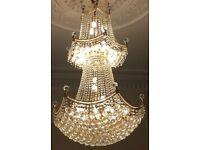Large stunning chandelier