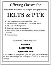 Beat out the fear of IELTS/PTE Wyndham Vale Wyndham Area Preview