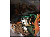 Dinosaur Animals Toys Farm