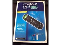 Contour Next One Blood Glucose Monitoring System Brand New Sealed.
