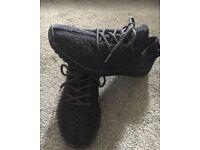 Adiddas YEEZY Black Size 7.5 UK [WORN] [No BOX]