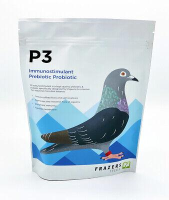 P3 Prebiotic Probiotic - Frazers Racing Pigeon Poultry YBS
