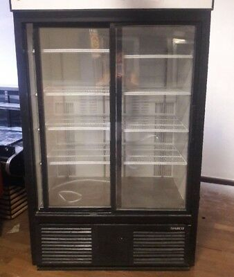 Deli commercial size double door reach in (Commercial Double Refrigerator)