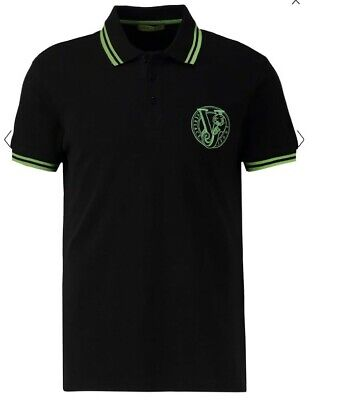 Versace Jeans Polo shirt. Brand New with tags  black size 48-M