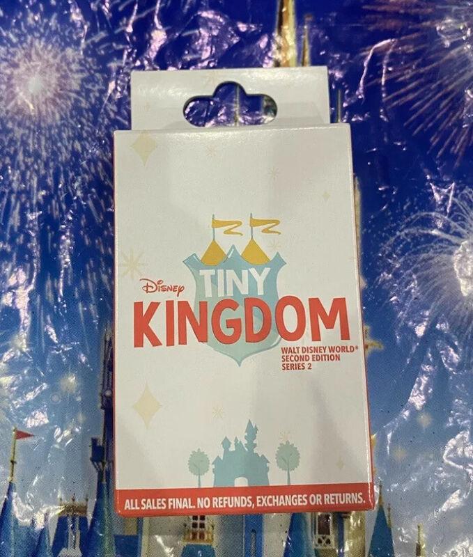 2021 WDW Walt Disney World Pin Tiny Kingdom Second Edition Series 2 Mystery Box