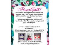 Handmade Hair Accessories 🎀🌸