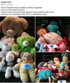 Plush soft toys