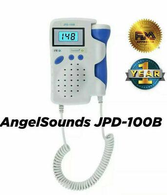 Angelsounds Fetal Doppler Baby Heart Monitor Backlight Lcd Jpd100b