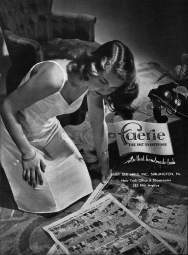 Faerie Slip Shillington PA Our Bill Comic Strip SUNDAY FUNNIES 1947 Print Ad