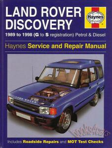 2001 land rover discovery repair manual