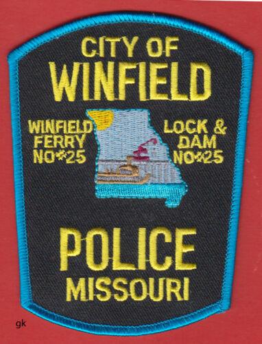 WINFIELD  MISSOURI POLICE FERRY SHOULDER PATCH