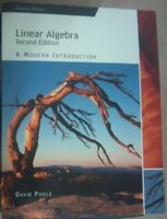 Linear Algebra: A Modern Introduction /w CD-ROM – 2nd Edition
