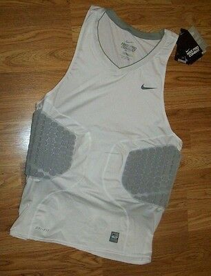 c209b9501 NIKE PRO COMBAT Basketball Impact PROTECTIVE Padded Compression SHIRT Mens  3XL
