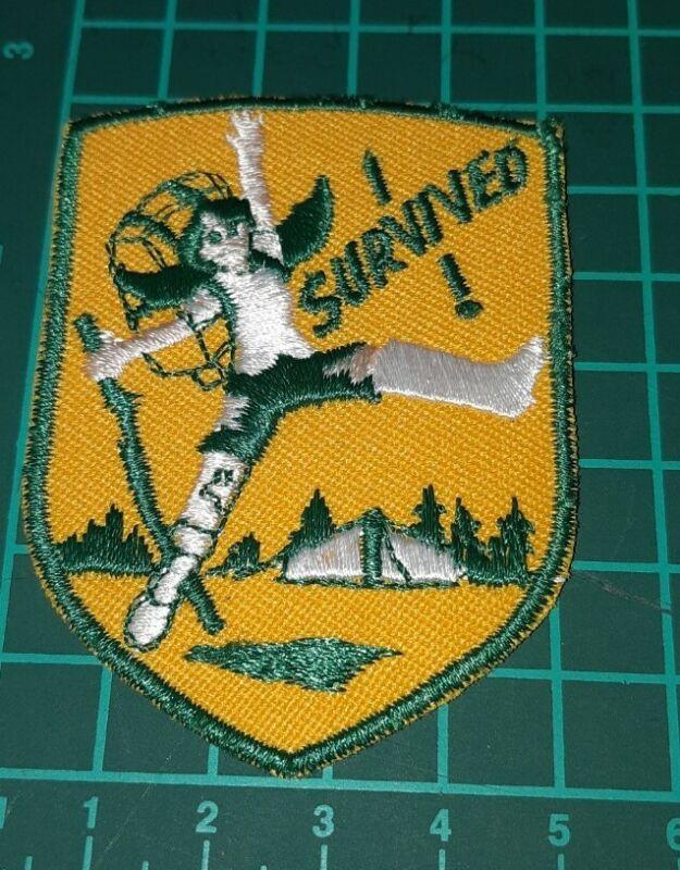 I survived Girl Guides Badge