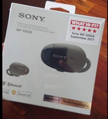 Sony WF-1000XB Mini Oreillette Bluetooth à Réduction de Bruit - Noir