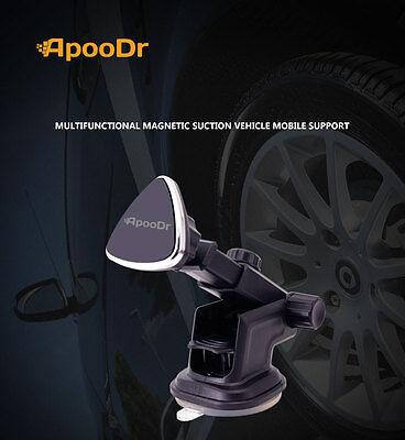 ApooDr Universal Cell Phone GPS Mobile Car Magnetic  Mount Holder Best (Best Gps Car Mounts)