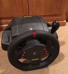 Logitech Momo Force Steering Wheel.