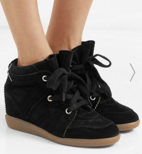 422dadbb84 BRAND NEW Isabel Marant Bobby Sneakers Black Suede Size FR36 ...