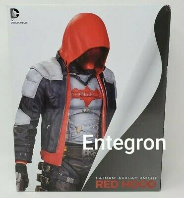 DC Collectibles Comics Batman Arkham City Knight Red Hood Statue Figure 30cm for sale  Shipping to India