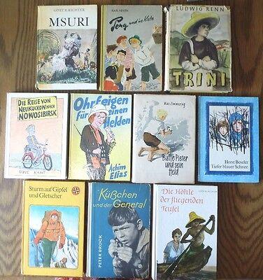 Bücherpaket mit 10 DDR Kinderbücher & Jugendbücher aus der ehemaligen DDR Set 12