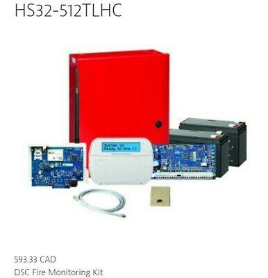 Dsc Hs32-512tlhc Fire Alarm Monitoring System Skbawa-nnnn-mb