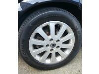 Vauxhall alloys wheels tyres