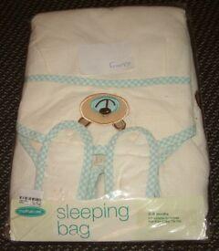 BNWT Mothercare Baby Boy's Sleep Bag 0-6 Months