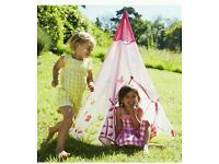 ELC teepee play tent girls