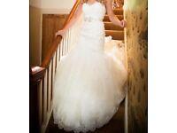 Beautiful lace detail Wedding Dress