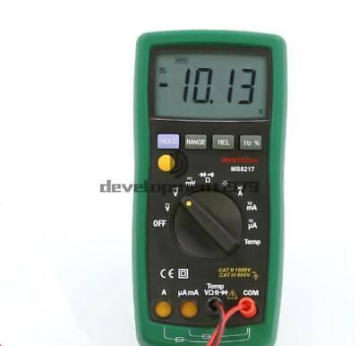 Mastech Ms8217 Digital Electrical Auto Range Multimeter With Temperature Measure