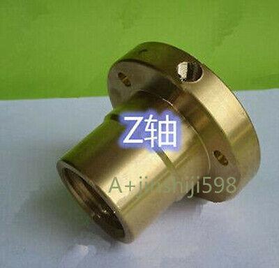 Bridgeport Milling Machine Parts Bushing Z-axis Screw Copper Brass Nut Tools