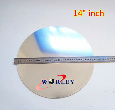 355mm Diameter 14 Dia 2mm Thick Ailuminum Disc Circle Blank Plate Sheet Round