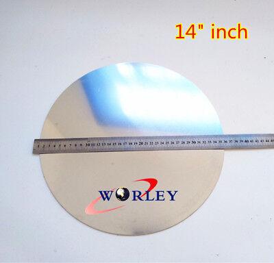355mm Diameter 14 Dia 2mm Thick Ailuminum Disc Circle Blank Plate Sheet Round