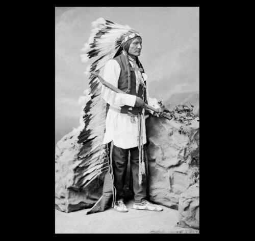 1877 He Dog Surrendered PHOTO Battle of Little Bighorn Survivor,Oglala Lakota
