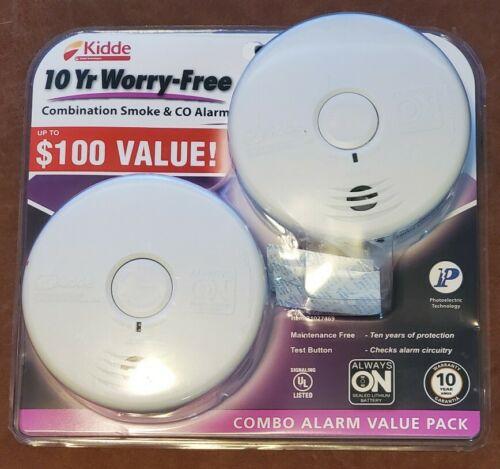 $100 Kidde 2 Wireless Combination Smoke & CO Alarm Value Pac