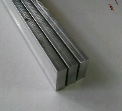 3 Pc 14 X 58 X 12 Long New 6061 T6 Solid Aluminum Plate Flat Stock Bar Block