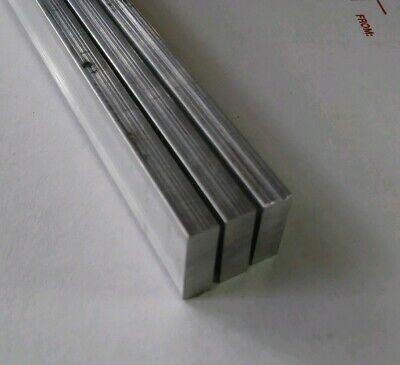 3 Pc 14 X 34 X 12 Long New 6061 T6 Solid Aluminum Plate Flat Stock Bar Block