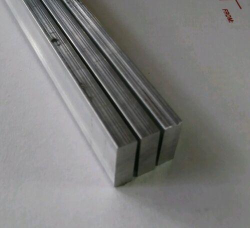 """1//4/""""x 8/"""" ALUMINUM 6061 Ftat Bar 24/"""" long T6511 New .25/""""x 8/"""" Mill Bar Stock"""