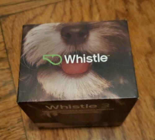 NEW OPEN BOX Whistle 3 Pet GPS Tracker Activity Monitor Dog Cat Bluetooth USB  - $45.00