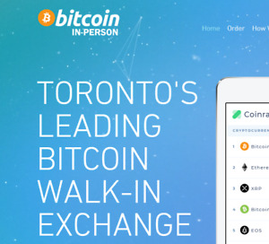 Sell Buy Bitcoin In-Person Toronto's Walk-In Exchange Crypto #1