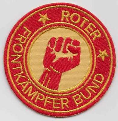 Patch Motiv Roter Frontkämpferbund Faust, 7,5cm