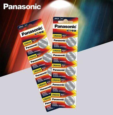 10 x Panasonic cr2032 Button Cell Batteries 3V Coin Battery For Watch 10pcs comprar usado  Enviando para Brazil