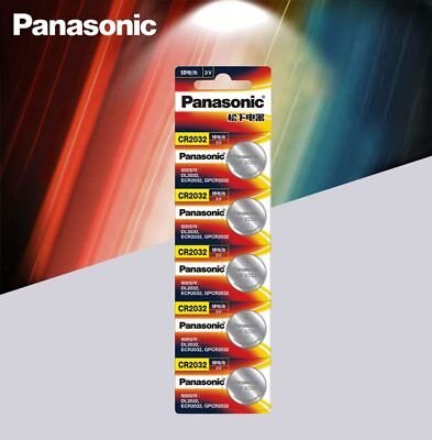 Usado,  5pcs Panasonic cr 2032 Button 3V Cell Batteries For Watch Remote Control cr2032 comprar usado  Enviando para Brazil