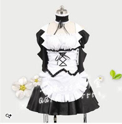 Kaichou wa Maid-sama Maid Sama Misaki Ayuzawa Cosplay Costume Housemaid Dress (Maid Sama Kostüm)
