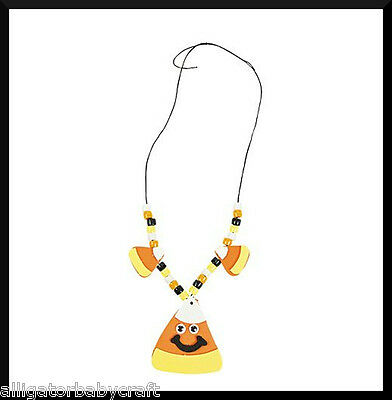 Halloween Activities For Children (Candy Corn Necklace Craft Kit for Kids Halloween ABCraft Cute Party)